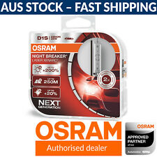 OSRAM Night Breaker Laser Xenarc D1S Xenon Car Headlight Globes (Twin)
