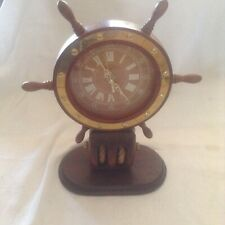 A lovely Vintage Ships Wheel Clock
