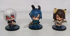Nitroplus Lamento Beyond the Void Chibi Figure bundle x 3 Togainu no chi