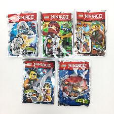 Lot 4 Figurine Minifigure Lego Ninjago Cyren Nya Zane Bucko Limited Edition