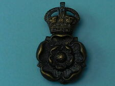 WW1 PERIOD YORKSHIRE DRAGOONS YEOMANRY CAP BADGE - F.N.B'HAM - 100% ORIGINAL!