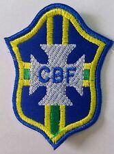 Brazil Brasil Soccer futbol iron on patch for pants jersey hat shirt bag