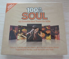 BOX 5 CD ALBUM 100 % SOUL ESSENTIAL 100 TITRES NEUF SOUS CELLO
