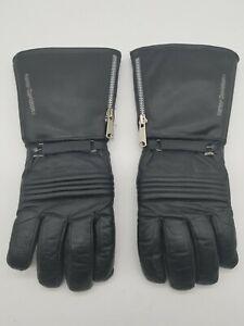 Vintage Harley Davidson Cold Weather Gauntlet Gloves Excellent - Free Shipping!