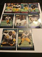 2001 Bowman PITTSBURGH STEELERS Complete Team Set BELL RC-BETTIS-HAMPTON RC Nice