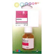Flacon 27ml parfum liquide pour bougie et savon - Jasmin