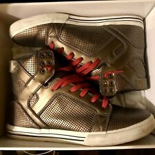 Supra Muska 001 Limited Edition Gold OG Skytop Sneakers [size 11.5]