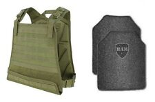Body Armor | Bullet Proof Vest | AR500 Steel Plates | Base Frag Coating- CPC OD
