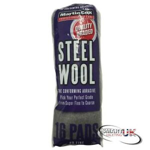 All Star Steel Wool (Wire Wool) 16 Pads #0 grade