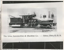 """2-Truck Shay Geared Locomotive 450th built by Lima Machine Works 1893 8""""x10"""""""