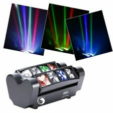 More details for 80w rgbw moving head stage lighting mini spider beam dmx disco dj party light