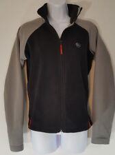 Columbia Convert Fleece Jacket Womens Black Gray Zip Front Athletic Jacket Sz M