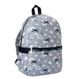 LeSportsac Classic Collection Carrier Backpack in Send Off Lavender NWT