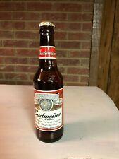 Dale Earnhardt Jr. Budweiser 1:64 scale car in beer bottle