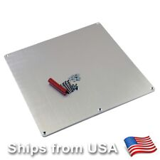 3D Printer Aluminum Heated Bed Build Plate 3-Point Adjustment RepRap Prusa i3