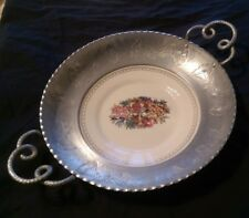 Farberware Etched Aluminium Bowl with Triumph Limoges Plate Insert