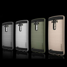 ANTICHOQUE Metal Híbrido Goma Funda for LG G3 G4 G5 K7 K8 K10 V10
