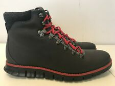 Mens Cole Haan ZeroGrand Hiker Grey/Red C29486 Medium
