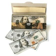 Creative Cigarette Paper Dollar Classic Natural Smoking Rolling Paper 10PCS