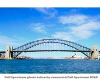 Nikon DSLR 6.1mp D50 IR infrared Full Spectrum UV VIS NIR Camera Body