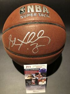 STEPHON MARBURY Signed NBA Spalding Basketball JSA Certified Auto Autograph