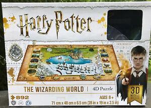 Harry Potter Wizarding World 4D puzzle 892 pieces EXUC complete Hogwarts