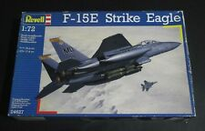 Revell #04627 1/72 Scale, F-15E Strike Eagle, MISSING PARTS SEE PHOTOS, used !!!
