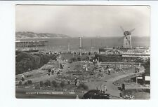 Postcard. Rockery and Fountain Paignton. Real Photo
