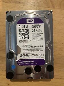 Western Digital WD40PURX 4TB Internal 8.89cm 3.5 inch Hard Drive