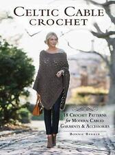 CELTIC CABLE CROCHET - BARKER, BONNIE - NEW PAPERBACK BOOK