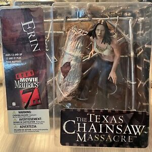 "Erin 7"" Texas Chainsaw Massacre Movie Maniacs 7 McFarlane Action Figure 2004 New"