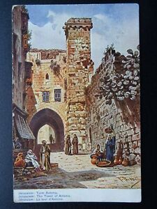 ?Palestine Judea JERUSALEM The Tower of Antonia c1915 Postcard