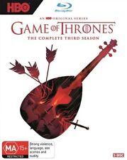 Game Of Thrones : Season 3 (Blu-ray, 2018, 5-Disc Set)