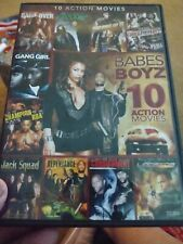 Babes & Boys 10 action movies (Dvd) See List Below Once viewed