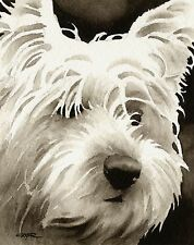 WEST HIGHLAND TERRIER note cards by watercolor artist DJ Rogers
