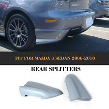 Rear Splitters Flaps Bumper Cupwings Aprons Kits Fit For Mazda 3 Axela 2006-2010