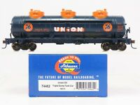 HO Scale Athearn 74462 UOCX Union 76 Oil Triple Dome Tank Car #10171
