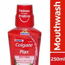 Colgate Plax Spicy Fresh Mouthwash - 250 ml + Free Shipping