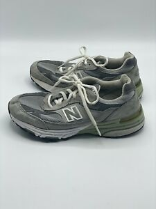 New Balance 993 USA Made Suede Running Shoes Womens Sz 6.5 EU 37 sneakers gray