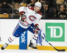 Autographed Montreal Canadiens Max Pacioretty 8x10 Photo Original