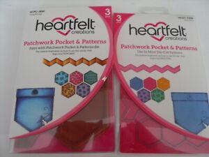 Heartfelt Creations Stamp and Die Patchwork Pocket &Patterns