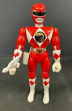 "1993 BANDAI *POWER RANGERS* 8"" FIGURE (RED RANGER) W/ LASER GUN! (M2) (NM)"