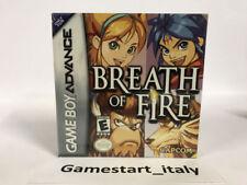 BREATH OF FIRE - NINTENDO GBA GAME BOY ADVANCE - NUOVO SIGILLATO NEW SEALED NTSC