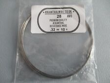 A1 KANTHAL WIRE  28 AWG PREMIUM QUALITY RESISTANCE .32MM 10M