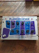 Electro Harmonix Flanger Hoax Phase Modulator Effects Pedal EHX FX NR