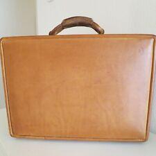 Hartmann Briefcase Belting Leather Excellent