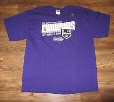 NEW NHL Los Angeles Kings Mens T-Shirt, 2012 Conference Champions, Size XL