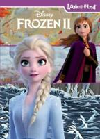 Disney Frozen 2 Elsa, Anna, Olaf, and More! - Look and Find Activity Book - PI K