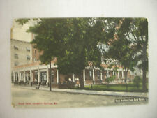 VINTAGE POSTCARD VIEW OF THE ROYAL HOTEL IN EXCELSIOR SPRINGS MISSOURI 1910