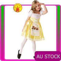 Girls Goldilocks Costume Child Book Week Kids Three Bears Goldilocks Fancy Dress